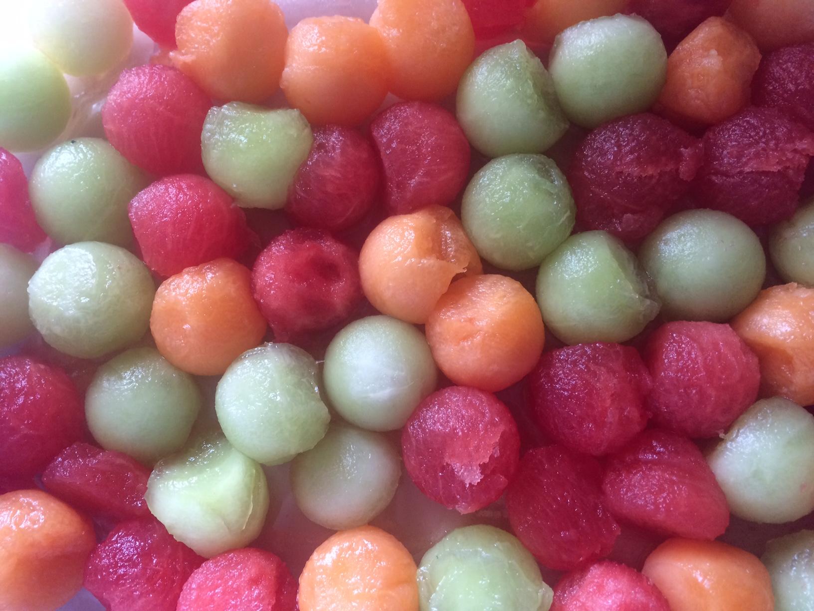 Image of melon balls